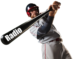 RADIO BAT baseball player